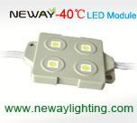 4 led 5050 smd below zero 30 degree led module, 40 degree minus led outdoor channel letter lighting