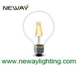 3.5w clear glass led filament bulb, glass cover led edison filament bulb, led filament lamp e27 base