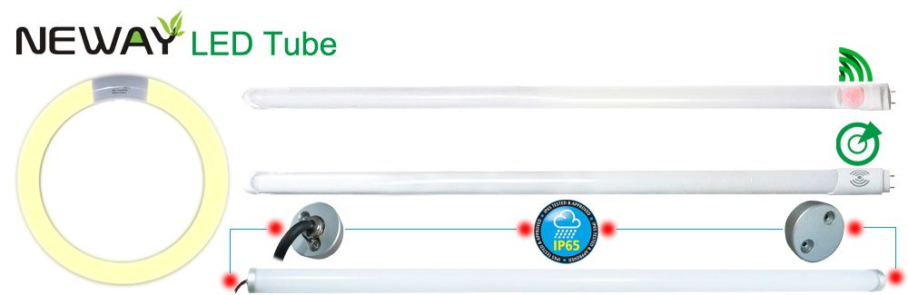 Infrared Motion Sensor LED Tube