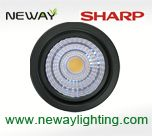 9w dimmable sharp mr16 led narrow spot, dimmable mr16 sharp cob spotlight, dimmable led spot mr16
