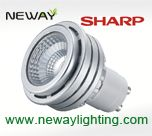 5w sharp led spot bulbs gu10, sharp led spot gu10, sharp led spotlight bulb gu10, sharp cob led gu10